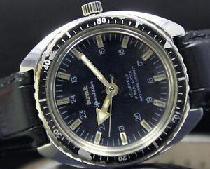 HMT Sportstar Winding Para Shock Steel Mens Vintage Wrist Watch