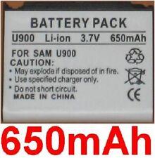 Batterie 650mAh type AB653039CCE AB653039EZ Pour Samsung SGH-U808