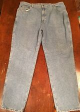 Mens WORK'N GEAR Flannel Lined Jeans Tag Size 44x32 Measure 41x31 EUC