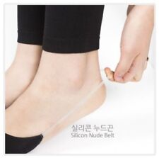 3 Pairs Hidden Sling Back Socks for Women Invisible Non Slip Hidden Silicone