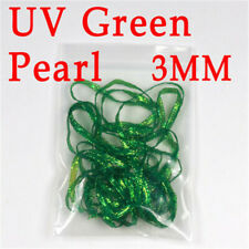 1 Color 3mm 2yards/bag Uv Flurocent Flat Diamond Braid Fly Tying Materials