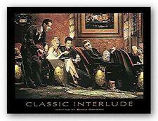 Classic Interlude by Chris Consani ELVIS MARILYN DEAN 14x11