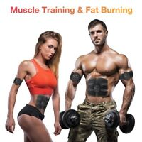 Electric Muscle Toner EMS Machine Wireless Toning Belt 6  Abs Fat Burner