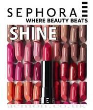 Sephora Rouge Shine moisturizing lipstick 37COLOURS ORIGINAL ! Best price!!!