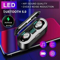 Bluetooth 5.0 Headphones TWS Wireless Earphones Mini Earbuds IPX6 Stereo Headset