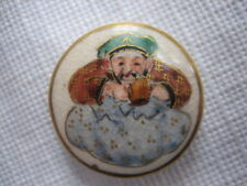 Vintage Medium 1 Inch Satsuma Button - Immortal God - B29