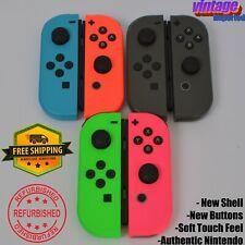 Genuine Nintendo Switch Joy Con JoyCon Controllers Joycons cons Joy-Con Refurb