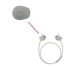 Genuine Bose SoundSport Wireless Outside Exterior Rubber Cover Left (Gray) Part