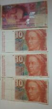 More details for switzerland exchangeable collectible notes holiday leftover