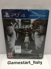 YAKUZA KIWAMI STEEL BOOK EDITION - SONY PS4 - NUOVO SIGILLATO - PAL NEW SEALED