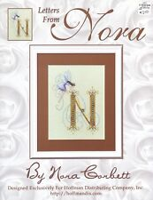 Cross Stitch Pattern Chart - Nora Corbett - Letters from Nora N - Fairy Nina