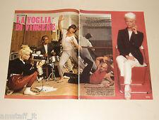PATTY PRAVO clipping articolo foto photo 1984 AT43 LA VOGLIA DI VINCERE