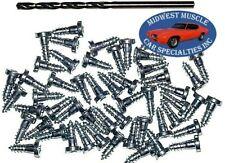 GM Chevy Window Trim Clip Molding Pin Stud Screw In Stud Studs & Drill Bit 50pcs