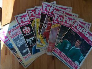 Fußball Woche Sport 1976- 10 Hefte