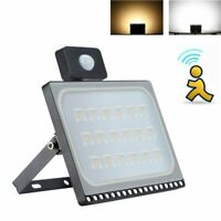 Waterproof 50W Motion Sensor Flood Light Outdoor Garden LED Lights Security Lamp