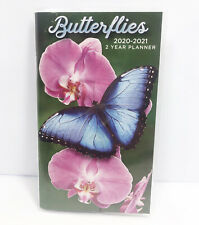 "2020-2021 Butterflies Two Year Fashion Planner Pocket Calendar 4"" x 6.5"""