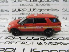 Greenlight 1/64 Scale LOOSE Collectible FDNY 2016 FORD EXPLORER Fire Rescue Unit