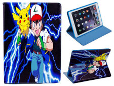 For Apple iPad Mini 1 2 3 Great Pokemon Pikachu Fun Kids Cartoon Case Cover