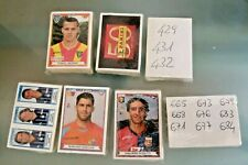Set figurine 2010 2011 quasi completo 705 su 717 Panini Calciatori