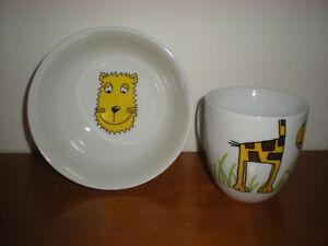WMF Müslischale+Tasse Safari  Frühstücksgedeck für Kinder