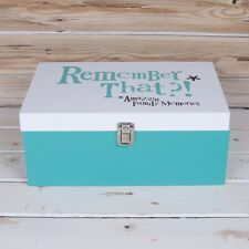 Remember That?!* *Amazing Family Memories Wooden Storage Box The Bright Side New