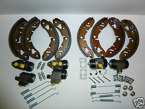 Mini  1966 on Front & Rear Brake Shoes Cylinders & Fitting Kits 4409 4410 4411