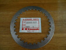 Kawasaki, 13089 027, Steel clutch plate , Z750 B1-B4 G1 M1 K1 VN750 VN800 VN900