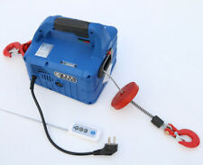 500kg X 7.6m Portable Household Electric Winch Wireless Control 220V