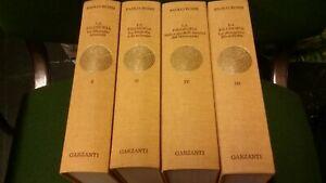 P. Rossi La Filosofia  e le sue scienze Garzanti 1996 4 voll. completa, 16gn21
