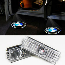 2x LED Car door courtesy laser projector Logo Ghost Shadow Light For BMW M power