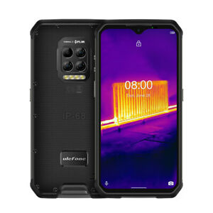 "Ulefone Armor 9 Thermal Camera Rugged 6.3"" Phone Android 10 8Gb + 128Gb 64MP Cam"