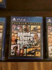 Grand Theft Auto V (Five) Premium Edition Ps4 Sealed Brand New! Free Shipping!