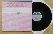 C179 ALICE HARNONCOURT BACH VIOLIN SONATAS 2 x LP TELDEC STEREO