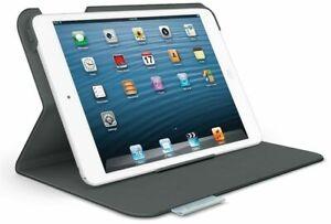 Logitech Folio Protective Case for iPad Mini - Black/Gray New