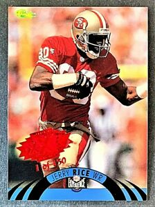 1996 CLASSIC NFL EXPERIENCE SUPER BOWL RED #2 - JERRY RICE - 1 OF 150
