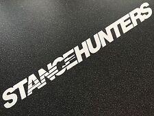 STANCEHUNTERS Matte White Speedhunters 100cm VW BMW HONDA AUDI FORD -