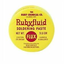 Rubyfluid SOLDERING PASTE FLUX Lead Free Paste Flux 51.6GM or 2 OZ