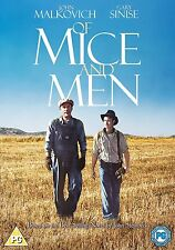 OF MICE AND MEN (John Malkovich) - DVD - REGION 2 UK