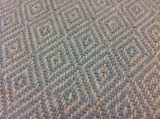 Rogers & Goffigon Linen Diamond Upholstery- Toccata/Gulf (BY THE YARD)  92507-08