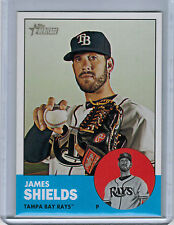 2012 Topps Heritage JAMES SHIELDS SP #495a (2701)