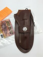 "Hunter® 1082C Leather #80 Concho WESTERN LOOP Holster, Colt SA Army 7.5"" + MORE"