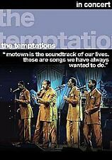 The Temptations - In Concert (DVD, 2007)