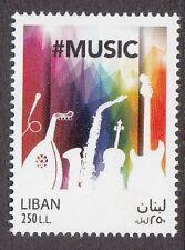 LEBANON - LIBAN MNH SC# 774 WORLD MUSIC DAY JUNE 21st