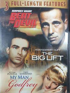 Beat the Devil/The Big lift/My Man Godfrey DVD 3 Full Length Features