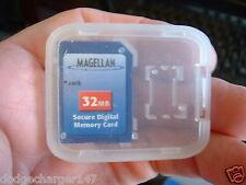 Original Magellan Meridian Explorist Gps Mapping 32MB SD card