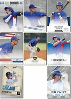 """KRIS BRYANT """"ULTIMATE"""" 2013 LEAF """"8"""" CARD ROOKIE CARD LOT! ROOKIE OF THE YEAR!"""
