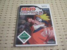 Naruto Clash of Ninja Revolution 2 für Nintendo Wii und Wii U *OVP*