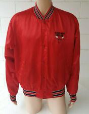 Vintage 1980's 1990's Chicago Bulls Swingster Satin Jacket Adult Large
