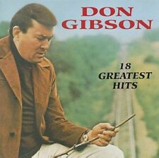 18 Greatest Hits by Don Gibson (CD, May-1991, Curb)