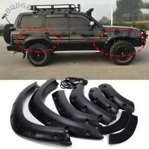 Fender Flares Wheel Arches Wide body For Toyota Land Cruiser LC80 FJ80 1991-1997